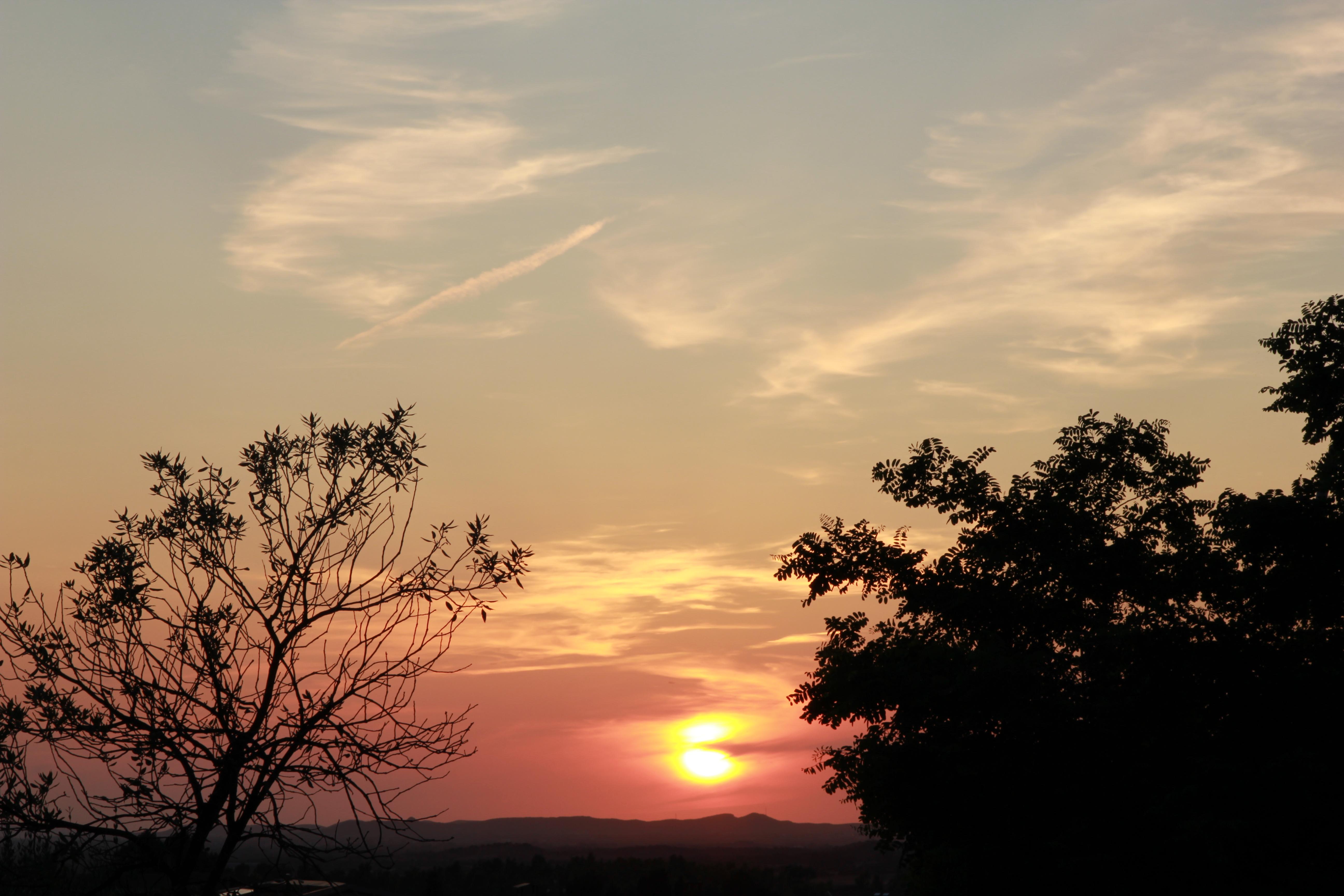 tramonto a giba