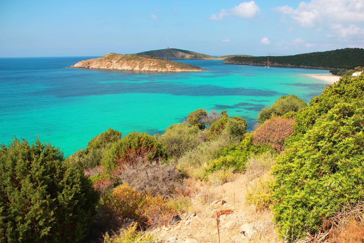 Tuerredda, spiaggia cartolina della Sardegna a Domus de Maria (CA)