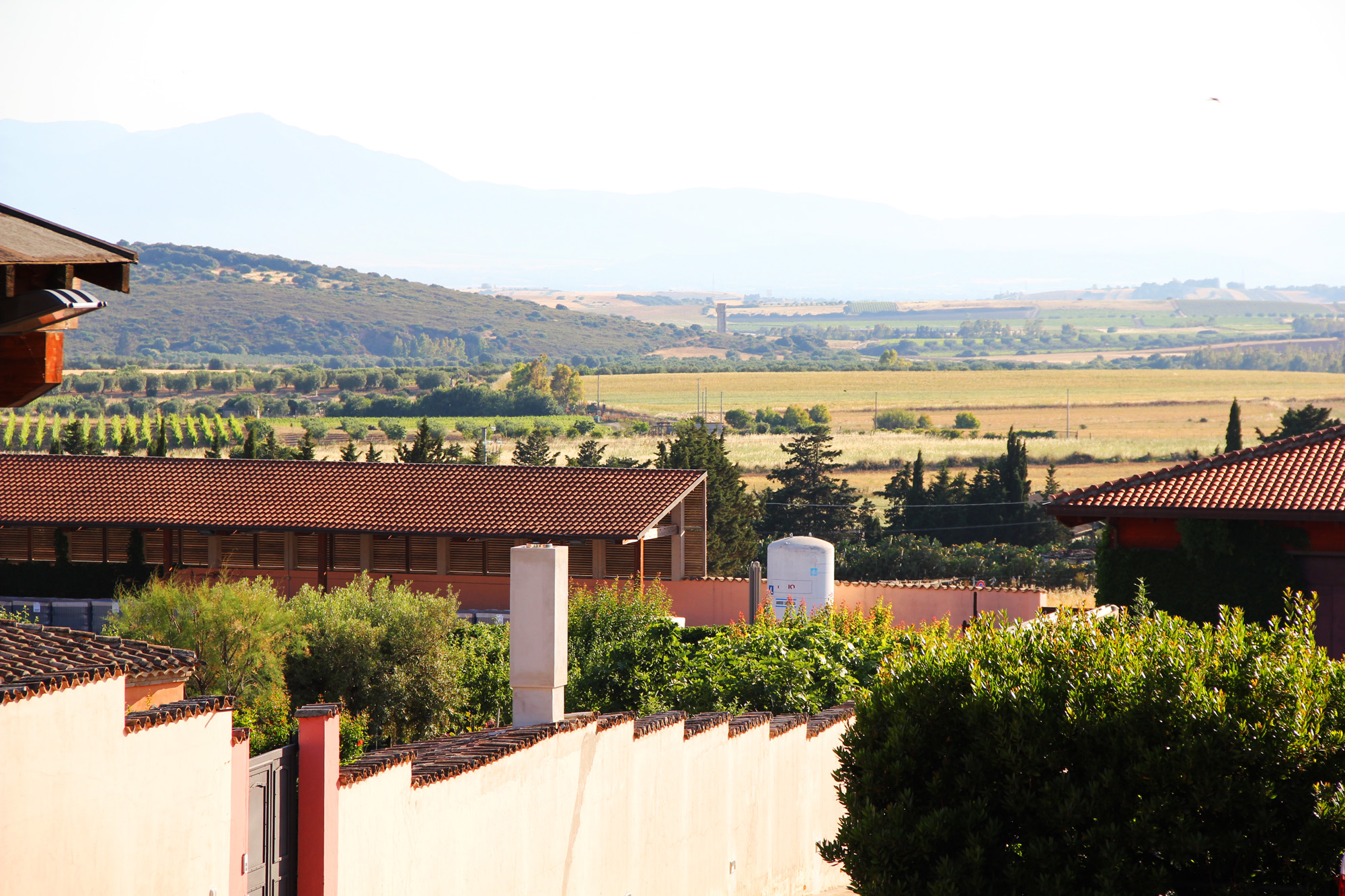 panoramica Cantine Serdiana Dolianova