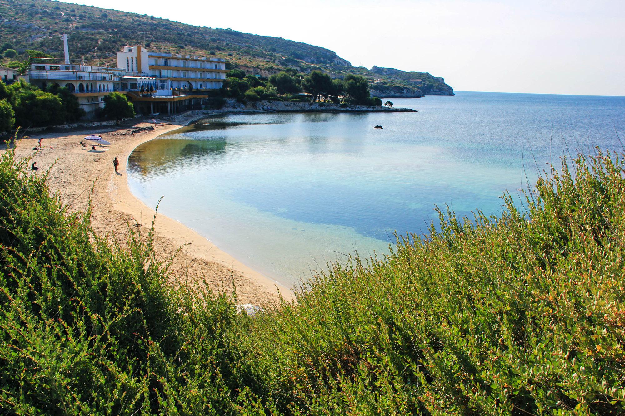 spiaggia di Calamosca a cagliari