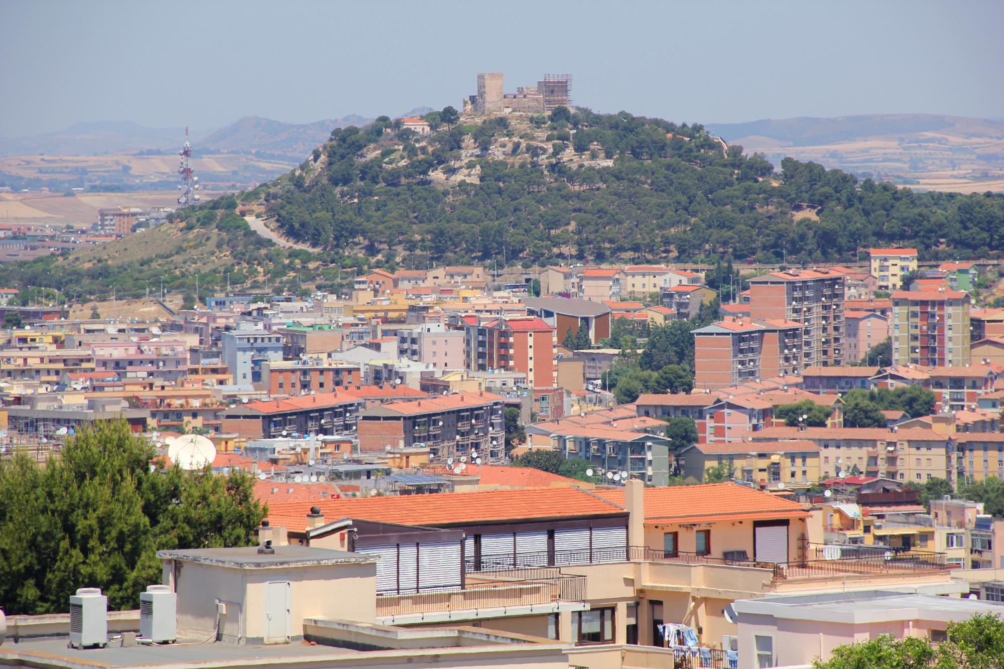 colle S. Michele Cagliari - panoramica della città