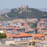 Cagliari foto panoramica Colle S. Michele