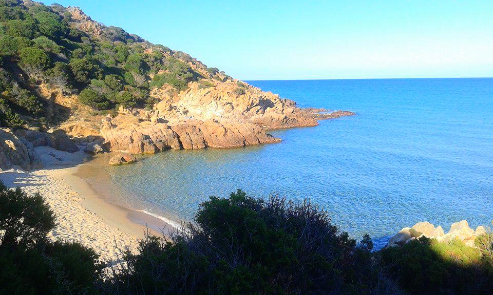 Spiaggia di Chia la cala del morto Chia (Cagliari)
