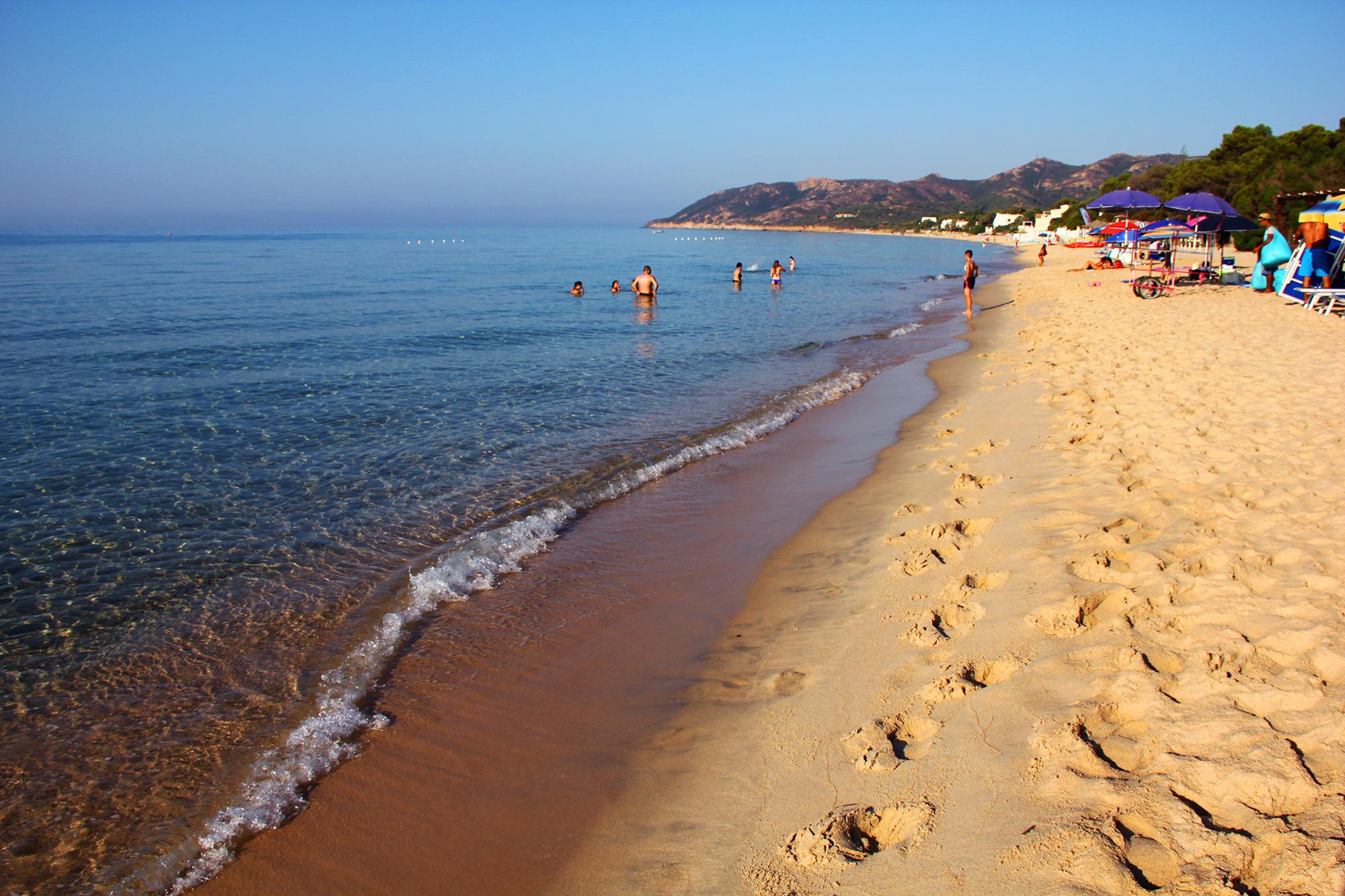 Spiaggia Abamar S. Margherita di pula al 38 Km