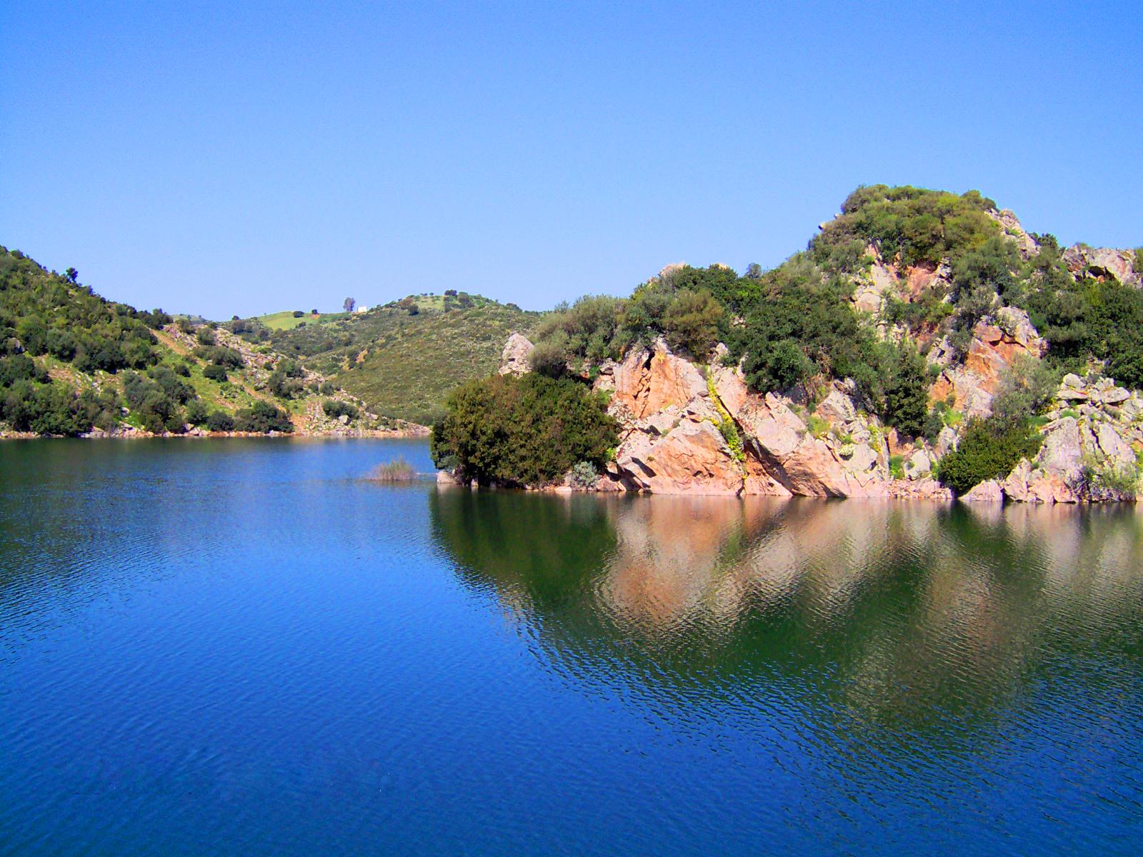Lago Mulargia in comune di Orroli