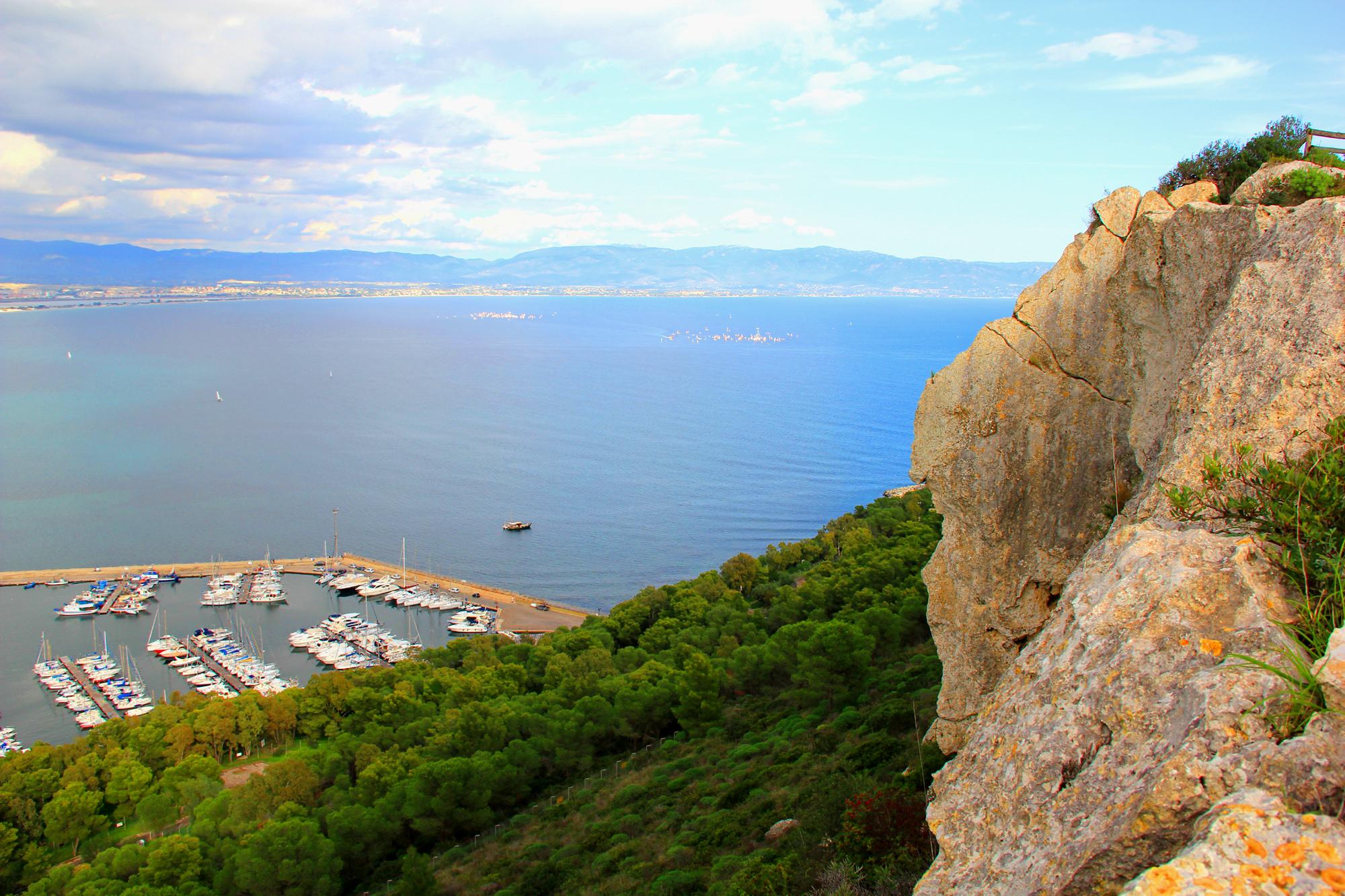 Golfo degli Angeli Sella del Diavolo - Poetto Cagliari