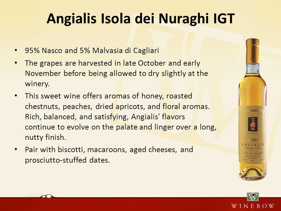 nasco e malvasia nei vini dolci argiolas
